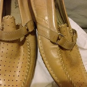 Genuine leather Gbx slip on shoes